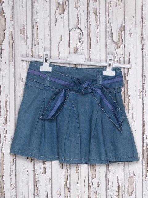 Спідниця синя джинсова De Salitto 597297