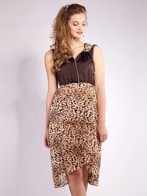 Платье шоколадного цвета Mila Nova 2386009