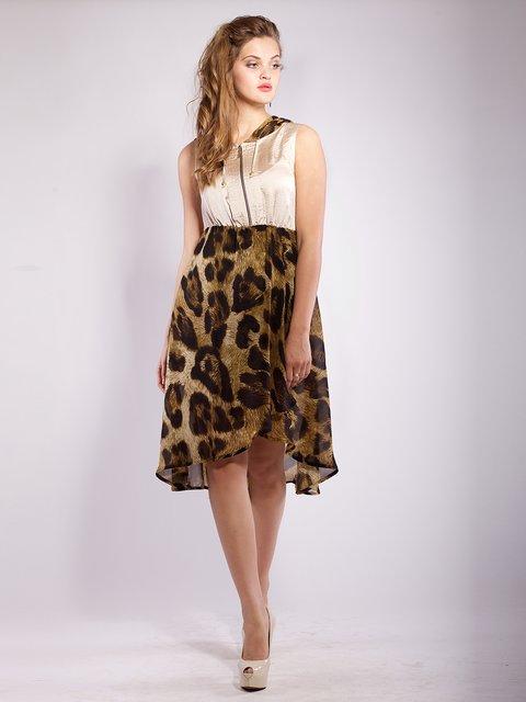 Платье бежевое Mila Nova 2386012