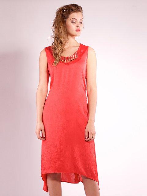 Платье кораллового цвета Mila Nova 2386034