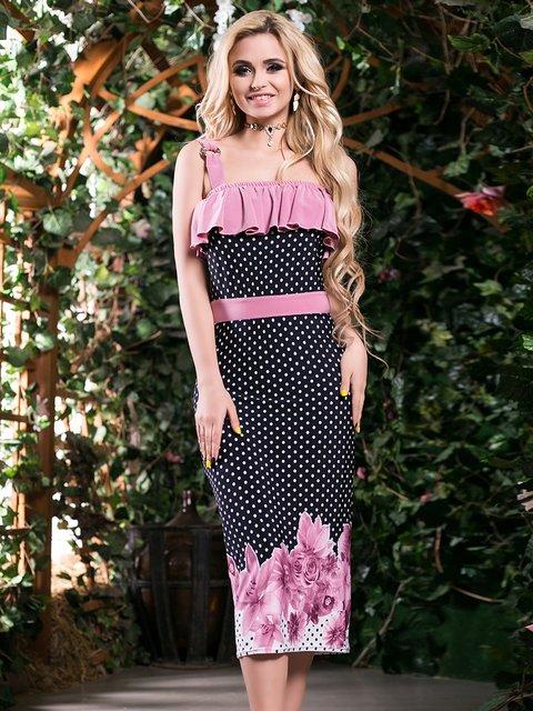 Сукня триколірна комбінованого забарвлення Seventeen 2401708