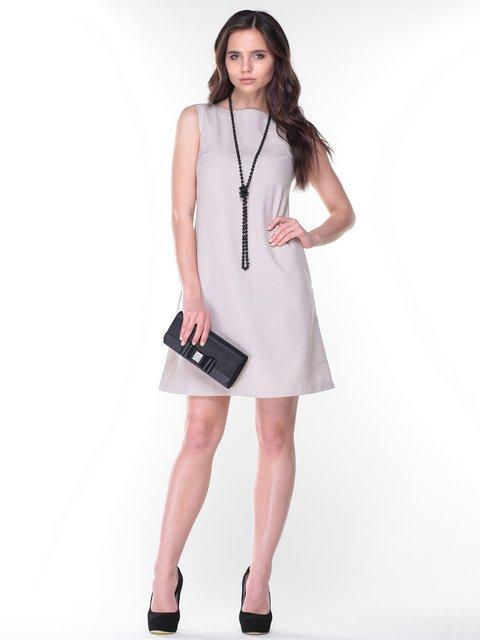 Платье-сарафан бежевое Laura Bettini 2375112