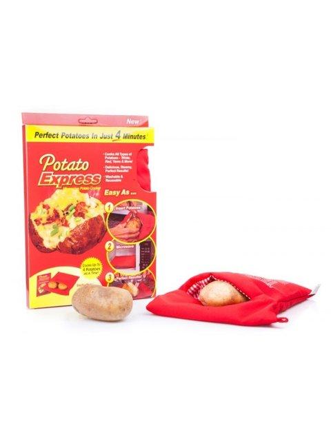 Рукав для запекания картошки Potato Express Веселі подарунки 2181389