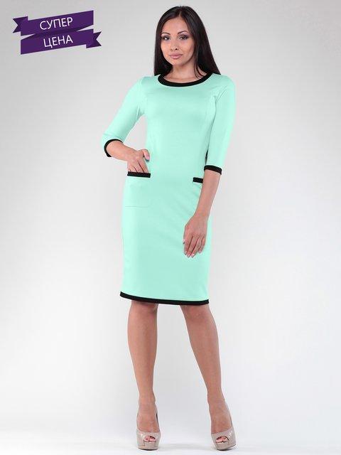 Платье светло-ментолового цвета Rebecca Tatti 2345651