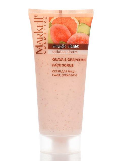 Скраб для обличчя «Гуава і грейпфрут» (95 г) Markell 2419319