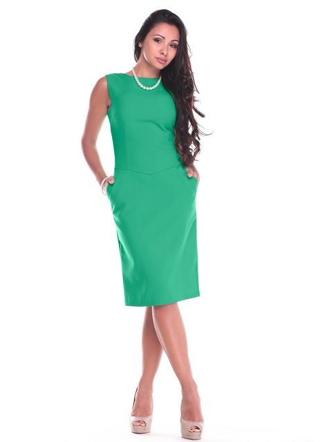 Платье изумрудного цвета Laura Bettini 2442463
