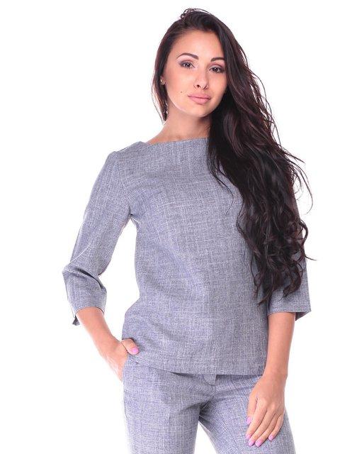Блуза димного кольору Laura Bettini 2447702