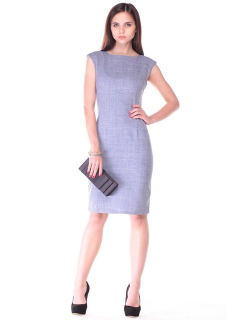 Платье цвета фиолетовой дымки Maurini 2447780
