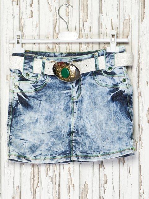 Спідниця синя джинсова Gofi Kids 2386943