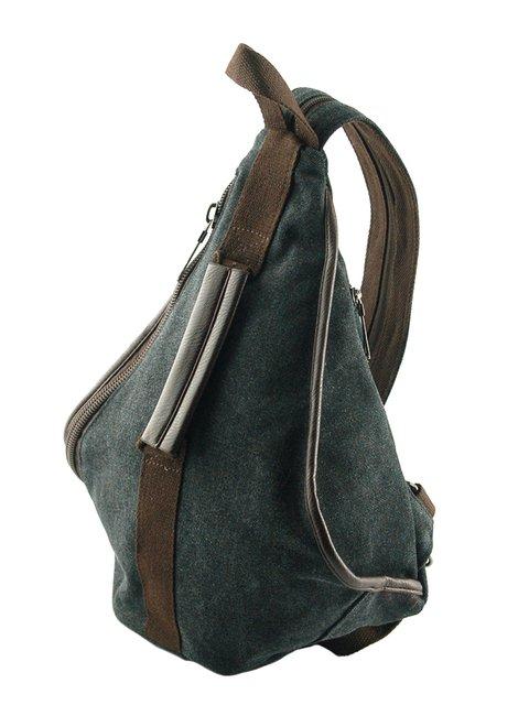 Рюкзак чорний Traum 2453976