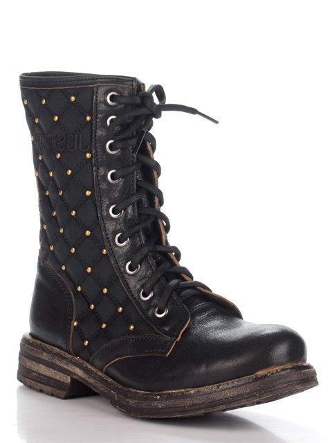 Ботинки черные JUST-R 2452993