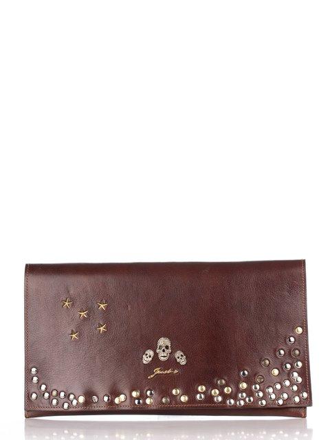 Клатч коричневый JUST-R 2453101