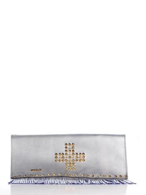 Клатч сріблястий JUST-R 2453109
