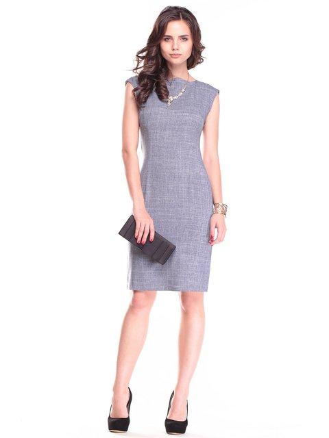 Платье дымчатого цвета Maurini 2461897