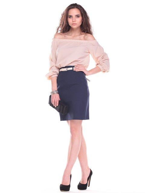 Сукня бежево-синя Maurini 2434511