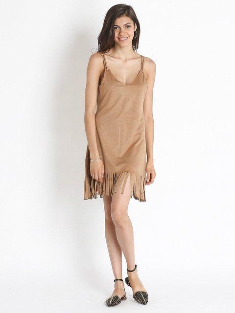 Сукня пісочного кольору Ada Gatti 2489381