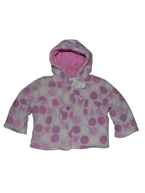 Куртка розовая в горох F&F 2493032