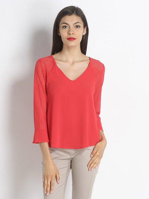 Блуза коралова Rinascimento 2502314