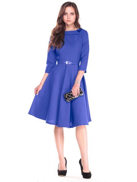 Платье цвета электрик Maurini 2507342