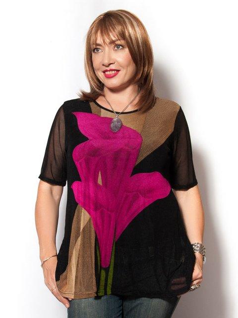Туника с цветочным принтом LibeAmore 2524117