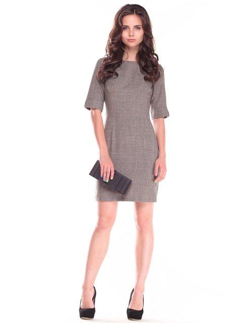 Платье цвета хаки Laura Bettini 2528727