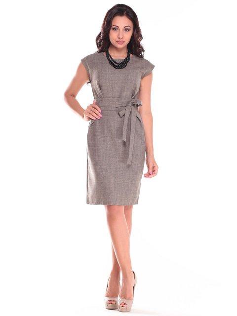 Платье цвета хаки Laura Bettini 2513709