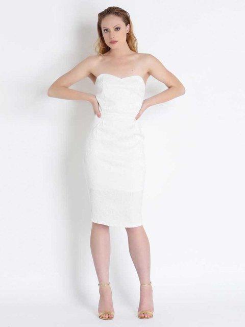 Сукня біла Fracomina 2534009