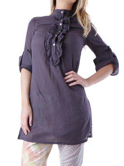 Блуза темно-фіолетова Sexy Woman 2541593