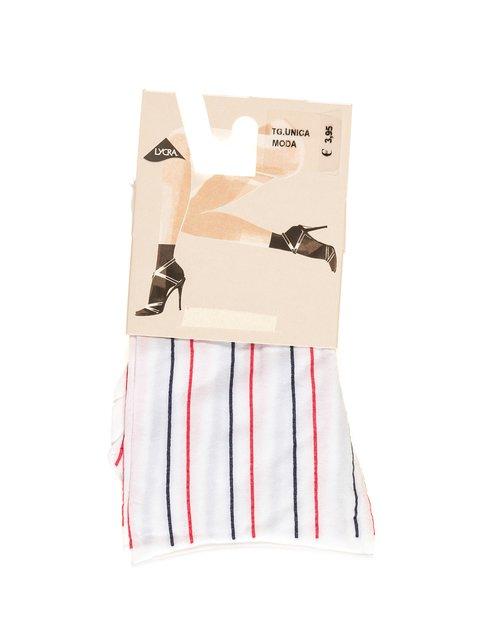Шкарпетки білі в смужку Calzedonia 2538837