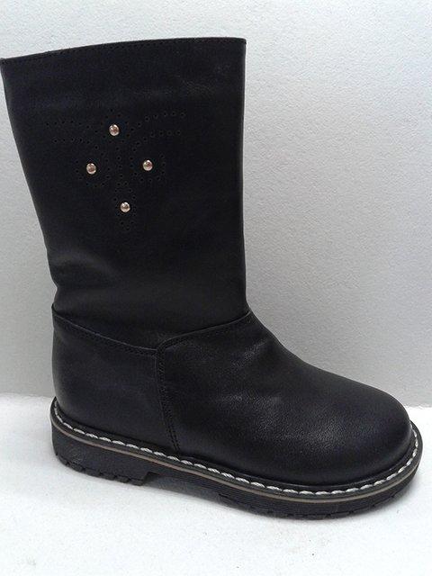 Сапоги черные Tops 2554912