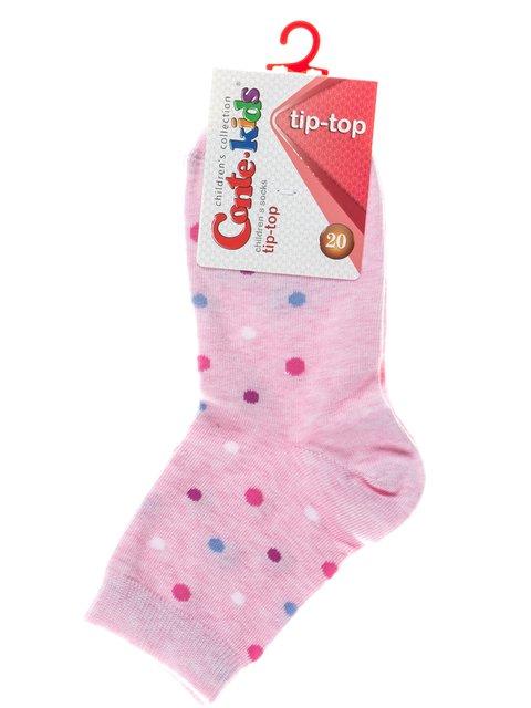 Носки розовые в горох Conte Kids 2626267