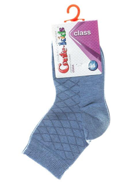 Блакитні шкарпетки в ромби Conte Kids 2625071
