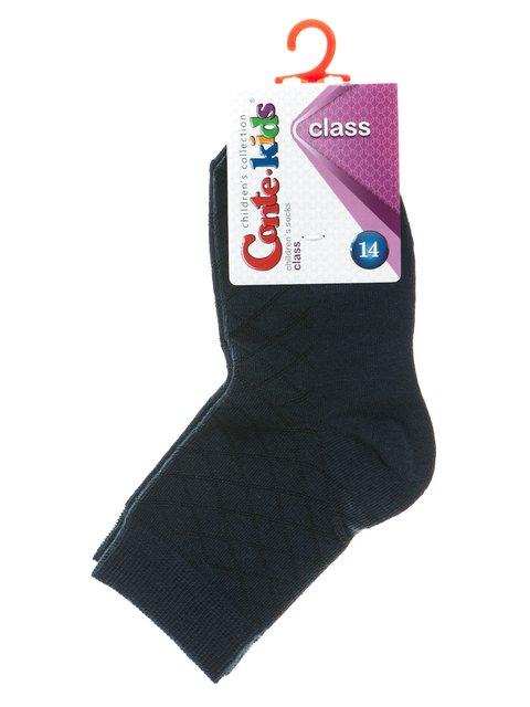 Носки темно-синие в ромбы Conte Kids 2625072
