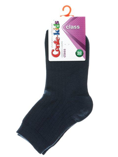 Носки темно-синие в клетку Conte Kids 2625081