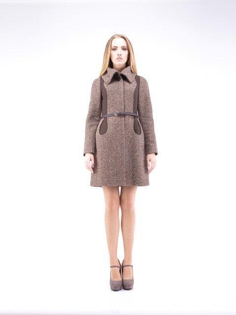 Пальто коричневе CORRERA 2335730