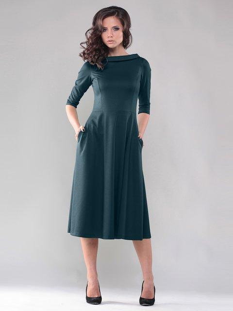 Сукня темно-бірюзового кольору Dioni 2588802