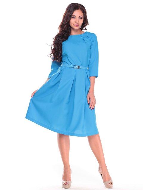 Платье бирюзовое Dioni 2601647