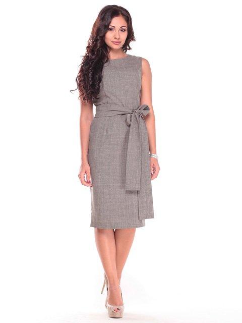 Платье цвета хаки Maurini 2601656