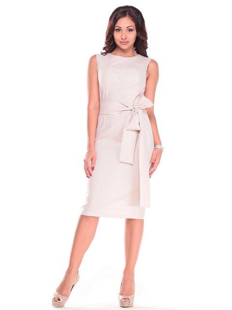 Платье светло-бежевое Maurini 2601657