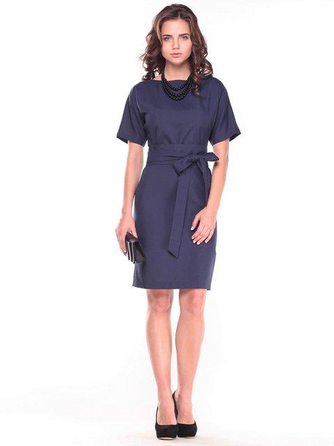 Платье темно-синее Rebecca Tatti 2601667
