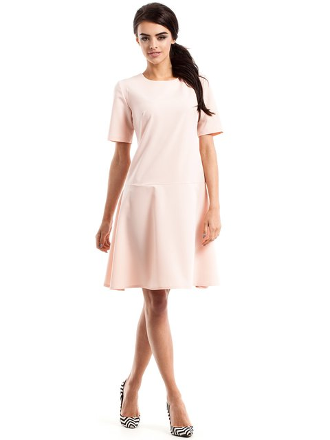 Сукня кольору пудри MOE 2616837