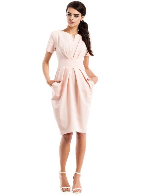 Сукня кольору пудри MOE 2616859