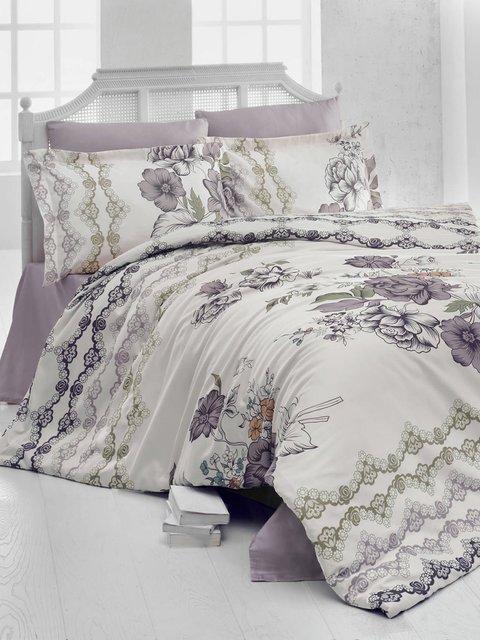 Комплект постельного белья двуспальный Nazenin Home 2619448
