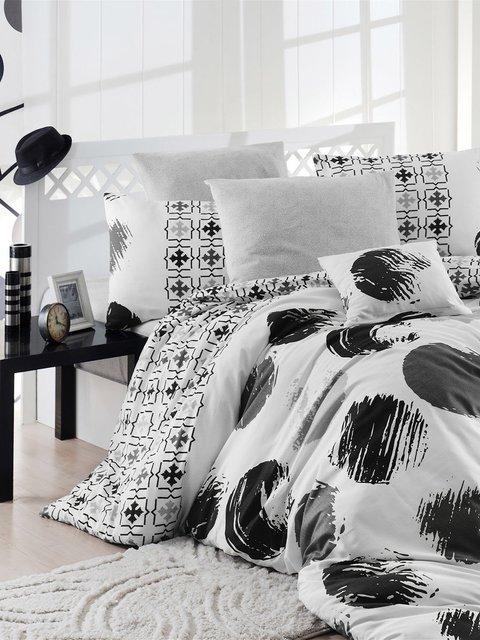 Комплект постельного белья двуспальный (евро) Nazenin Home 2619543