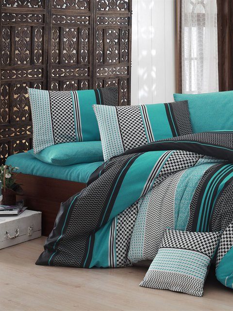 Комплект постельного белья двуспальный (евро) Nazenin Home 2619556