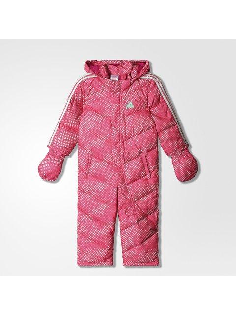 Комбинезон розовый в горошек Adidas 2417943