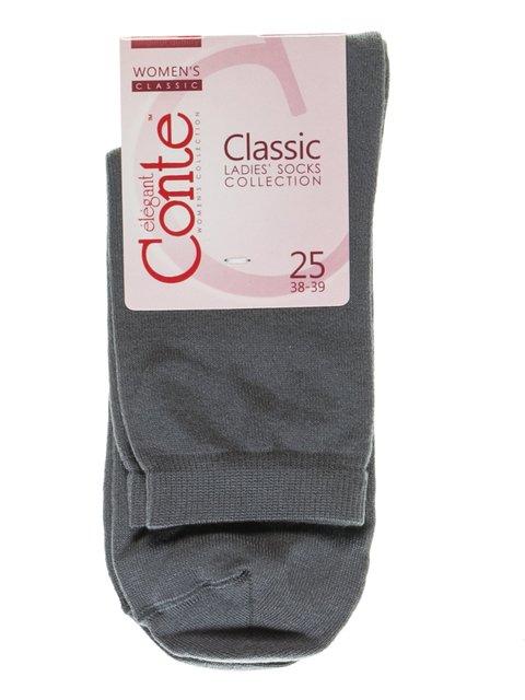 Шкарпетки темно-сірі Conte 2621218