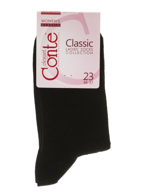 Шкарпетки чорні Conte 2621227