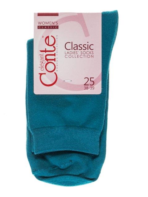 Носки темно-бирюзовые Conte 2621217