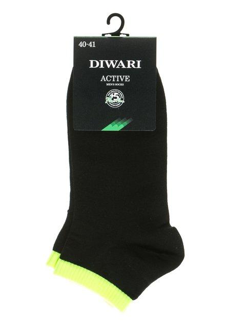 Шкарпетки салатово-чорні DIWARI 2621669